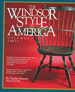 The Windsor Style in America: The Definitive Pictorial Study of the History and Regional Characteristics of the Most Popular Furniture Form of 18th Century America 1730-1840 (Vol 1 & 2)