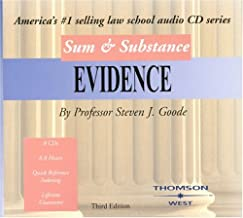 Sum & Substance: Evidence (Sum & Substance Cd)