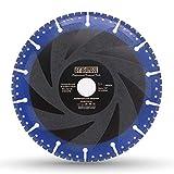 DT-DIATOOL Disco Diamantato 180 x 22,23 mm Lama per Sega Universale per Cemento Armato Metallo Alu Rebar Ferro PVC Tutti i Materiali Resistenti