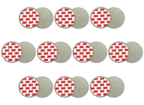 10x Magnethalterung Rauchmelder Magnetbefestigung Magnet Halterung Feuermelder