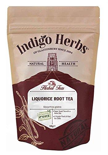 Té de hierbas sueltas de raiz de Regaliz cortada - 100g (calidad garantizada)