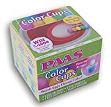 PAAS Easter Egg Dying Coloring Cups with Dye Tablets Decorate 36 Eggs!