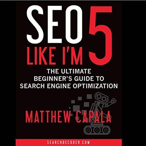 SEO Like I'm 5 audiobook cover art