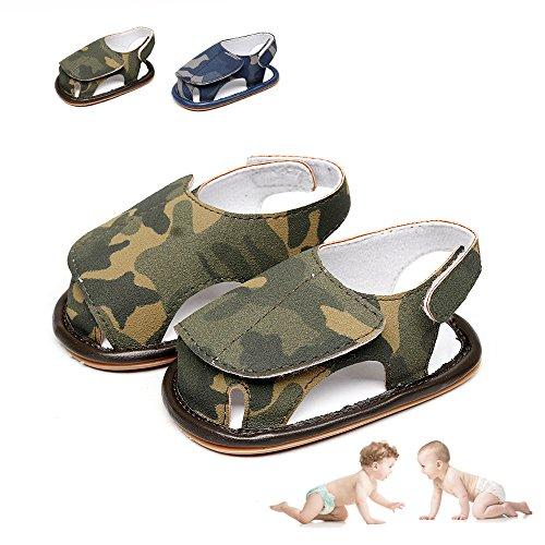 Zapatos de Bebé, Morbuy Unisexo Zapatos Bebe Primeros Pasos Verano Recién nacido 3-18 Mes Bebé Casual Verano Zapatos Suela Blanda Zapatillas Antideslizante Sandalias