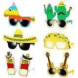 6 Paar mexikanische Sonnenbrillen