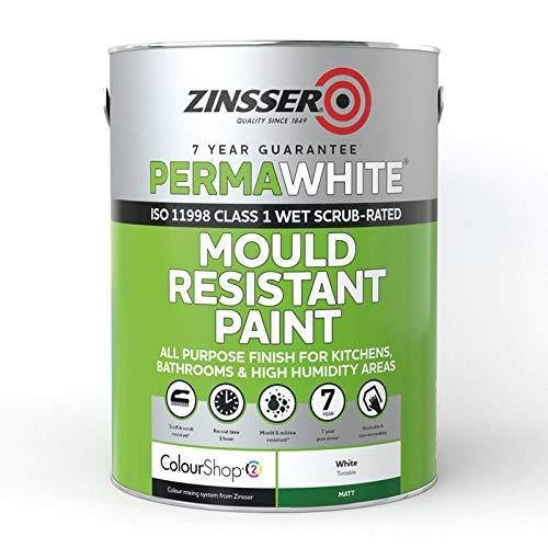 Zinsser ZN7050001A1 Perma-White Interior Water-Based...
