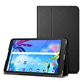 Fintie Case for LG G Pad 5 10.1 FHD, Premium Vegan Leather Folio Stand Protective Cover with Auto Sleep / Wake for 10.1 inch LG GPad 5 LMT600 Tablet (2019) - Black