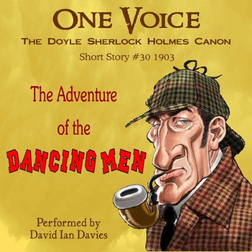 The Adventure of the Dancing Men audiobook cover art