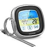 HOSPORT Thermomètre de Cuisine Digital Thermomètres à Viande Cuisson Friture Écran LCD Tactile...