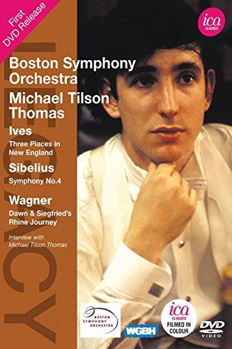 TILSON THOMAS: Ives/Sibelius/Wagner (Boston Symphony Orchestra, 1970)