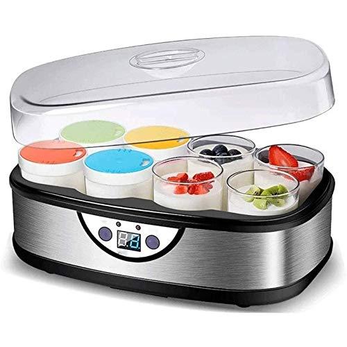 SHUILV Home-made Yogurt Machine - Full-automatic 8 Glass Split Cup Large Capacity Yogurt Machine