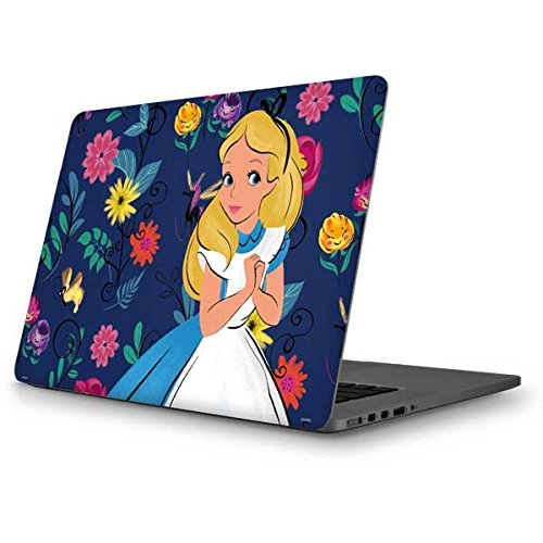 Skinit Decal Laptop Skin for MacBook Pro 13-inch (2014) - Officially Licensed Disney Alice in Wonderland Floral Print Design