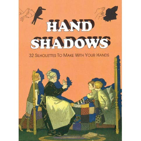 Hand Shadows Retro Book - 32 Silhouettes To Make With Your Hands