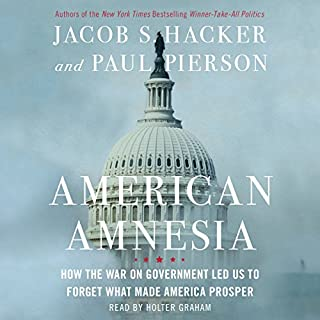 American Amnesia audiobook cover art