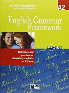 scheda english grammar framework, a2 reference and practice for elementary students with cd-rom: book + audio cd/cd-rom a2 (edizione italiana per le s