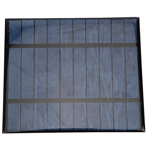 Panel de células solares portátil ligero 2.5W 5V Panel solar portátil para cargar bancos de energía, teléfonos móviles con puerto USB