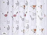 CAÑETE - Visillo con ollaos Lula 140x270 cm