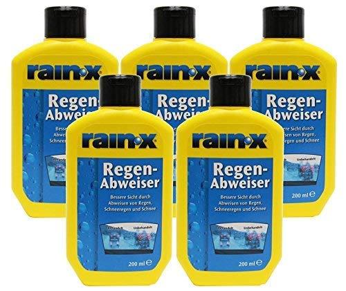 5x pluie X Regenabweiser 200ml fenêtre de la voiture propre fenêtre propres essuie-glaces