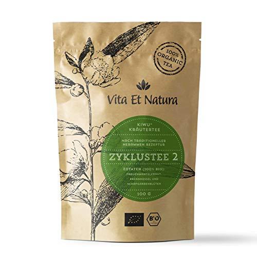Vita Et Natura Zyklustee 2 - 100g loser Kräutermischung nach traditioneller Rezeptur - 100% BIO / DE-ÖKO-001