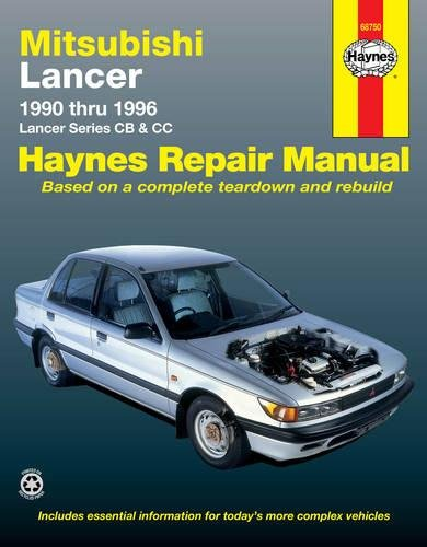 Mitsubishi Lancer (90 - 96): 1990 to 1996 (Haynes Automotive Repair Manuals)