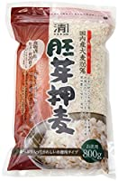 西田精麦 胚芽押麦 800g 国内産 大麦
