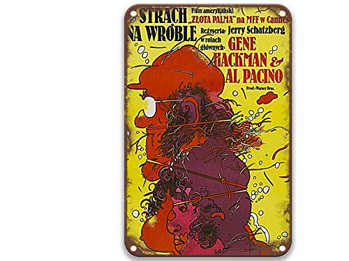 TGDB Scarecrow (1973) Tin Signs Vintage Movies Fashion for Man Office Outdoors Party Room 8x12 Inches