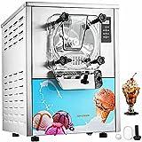 Máquina de helado 16-20L / H Fabricante de helados eléctricos con panel inteligente LCD Máquina de helado de encimera comercial para restaurantes Bares Cafeterías Panaderías