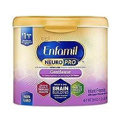 Enfamil NeuroPro Gentlease Baby Formula Gentle Milk Powder, 20 Ounce (Pack of 1) - MFGM, Omega 3 DHA