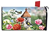 Briarwood Lane Home Sweet Birdhouse Spring Large Mailbox Cover Floral Oversized