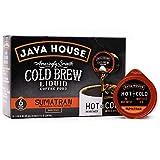 Java House Cold Brew Coffee Concentrate Single Serve Liquid Pods - 1.35 Fluid Ounces Each (Sumatran, 6 Count)