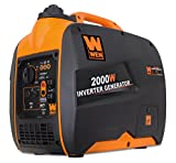 WEN 56200i 2000-Watt Gas Powered Portable Inverter Generator,...