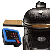 BBQ Guru Monolith Ceramic Grill with UltraQ Temperature Control - Most Hi-Tech Charcoal Grill