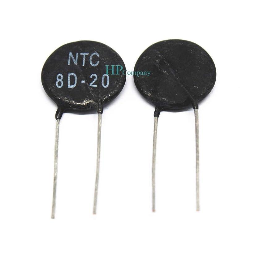 レザーまもなく散らすWillBest 5PCS Thermistor NTC8D-20 8D-20 8D20 15MM negative temperature sensitivity