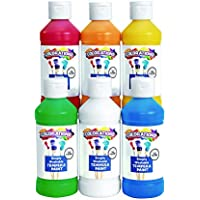 Set of 6 Colorations Simply Washable Tempera Paints