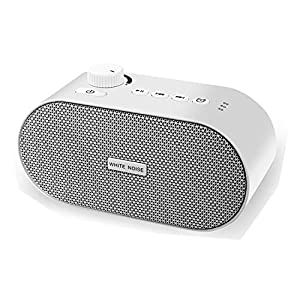ALLYAG White Noise Machine | Portable Sleep Sound Machine for Sleeping | 26 HiFi Soothing Sounds | Timer & Memory Function | Dual power & USB Output Port | Sleep Therapy for Baby, Kid, Adult or Travel