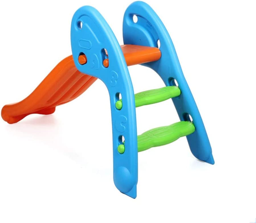 Great St. Kids Slide Playset 2 Colorful Popular brand 1 Play in Toddler Max 55% OFF