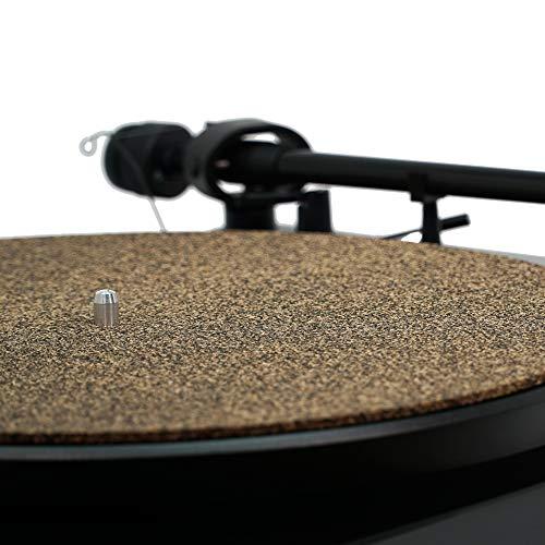 CORKery Cork N Rubber - Turntable Platter Mat - 1-8' - Audiophile Slipmat for Vinyl Records