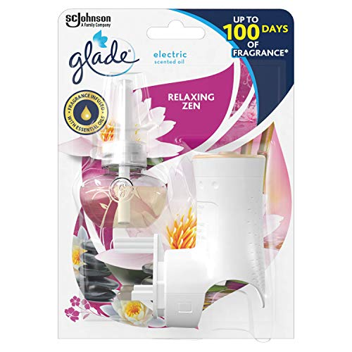 Glade Electric Scented Oil Holder & Refill, Plug In Air Freshener for Home,...