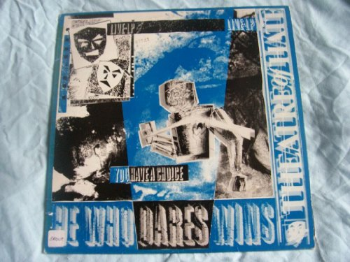 THEATRE OF HATE He Who Dares Wins UK LP 1982