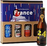 Découvrez les 4 coins de la France à travers ces différents styles de bières et ces 4 brasseries artisanales ! Pour soi ou pour offrir, le Coffret Découverte France est une idée cadeau parfaite. Il regroupe 4 bières françaises. - Page 24 Blonde de la...