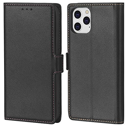 Crosspace Compatible with iPhone 12/12 Pro[6.1 inch,2020],Limited Supplies and 0 Profit with While Purchasing Means Earning,Slim Wallet Case for Men with Card Holder&Kickstand-Black