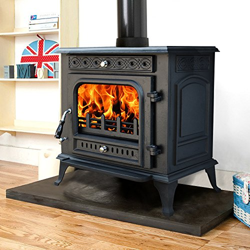 Lincsfire Metheringham JA031 13KW MultiFuel WoodBurning Stove Clean Burn...