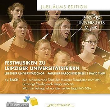 Festmusiken zu Leipziger Universitätsfeiern (Jubiläums-Edition)