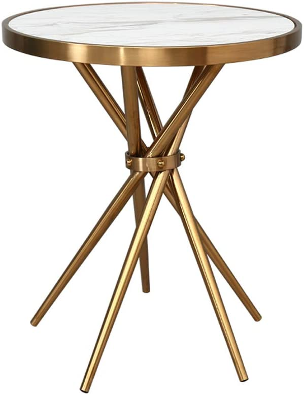 Raleigh Mall ZHXQ-Coffee Table Stainless Steel Marble Coffee Save money Roo Living