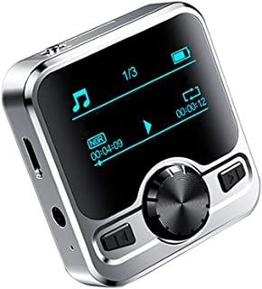 Gutobala 1.2-inch Walkman Mp3 with Recording Function 8g/16g/32g Portable Sports Music Player with Hd Sound Quality Wirele...