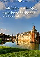 Eindrucksvolle Burgen, malerische Schloesser im Muensterland (Wandkalender 2022 DIN A4 hoch): Burgen und Schloesser im Muensterland (Monatskalender, 14 Seiten )