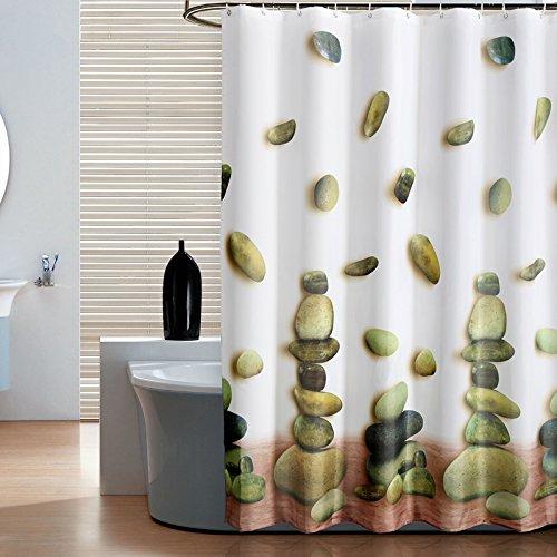 Gepolsterte wasserfeste Schimmel Badezimmer Badezimmer Dusche Vorhang Vorhang Vorhang Kabel abgeschnitten, senden Sie einen Link,Hohe 240*200
