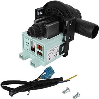 WD-5470-09 Washing Machine Drain Pump for Haier PCX-30L V12624- GWT450AW HLP23E HLP22P RWT150AW RWT350AW XQB5010A GWT460AW XQB6091AF XQB6091BF RWT360BW GWT460BW and more