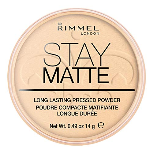 Rimmel London Stay Matte Long Lasting Pressed Powder Transparent, durchsichtig, milliliter