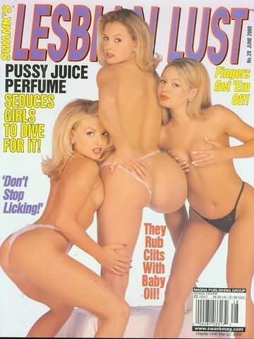 Swank's Lesbian Lust Busty Adult Magazine 'Arina' 'Jenny' No.28 2000